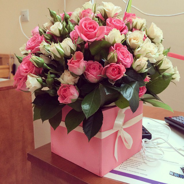цветы картинки в коробке